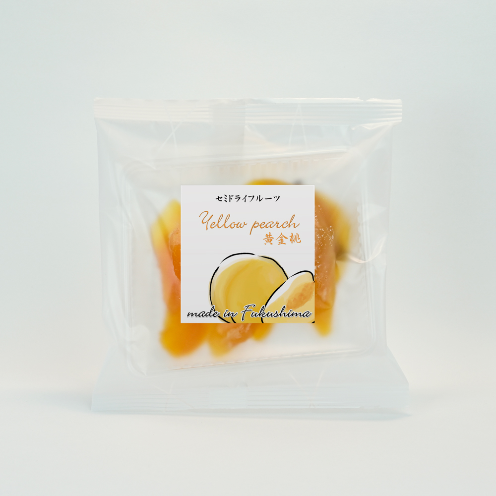 セミドライフルーツ黄金桃